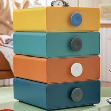 Настольный ящик для хранения многослойный маленькая коробка