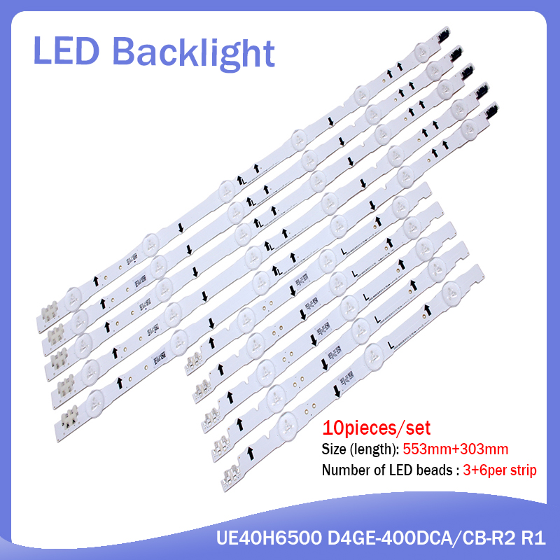 LED Backlight Strip For UN40J6300 2014SVS40 CY-GH040CSLV8H D4GE-400DCA-R1 D4GE-400DCB-R1 D4GE-400DCA-R2 R2 LH40DBEPLGC HG40AC690
