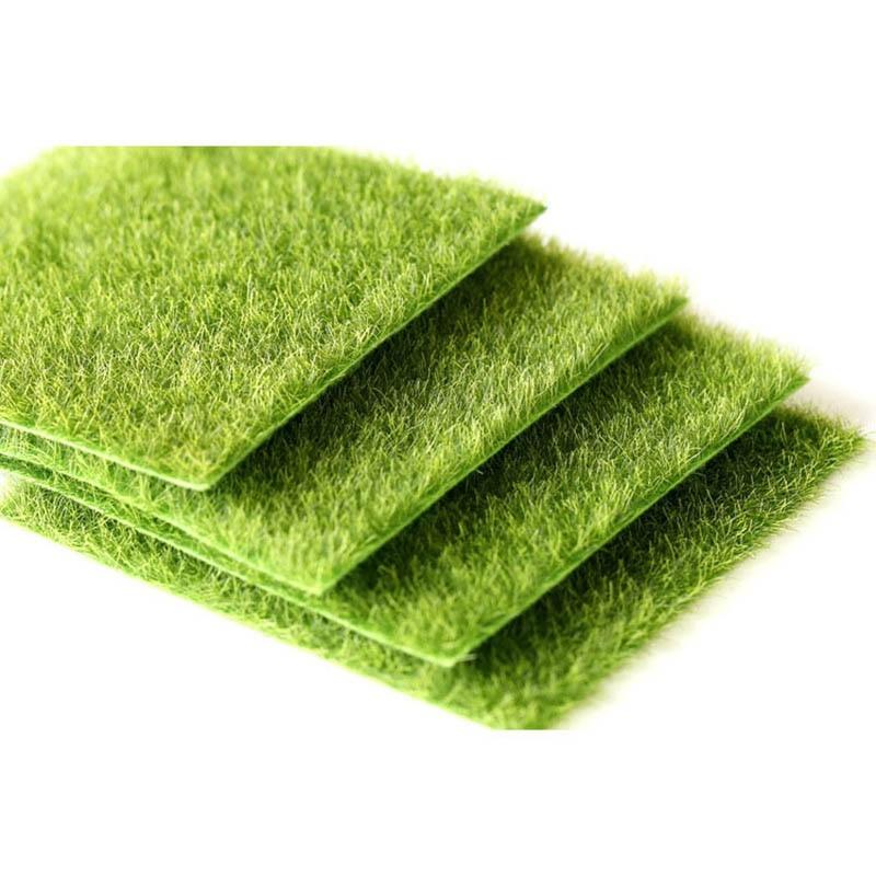 new micro landscape decoration DIY simulation plant artificial fake moss decoration lawn lawn green grass