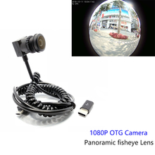 HD 1080P Android Mircro USB Camera Panoramic fisheye lens 2MP Mobile USB CCTV Camera For use mobile  phone Camera OTG Camera