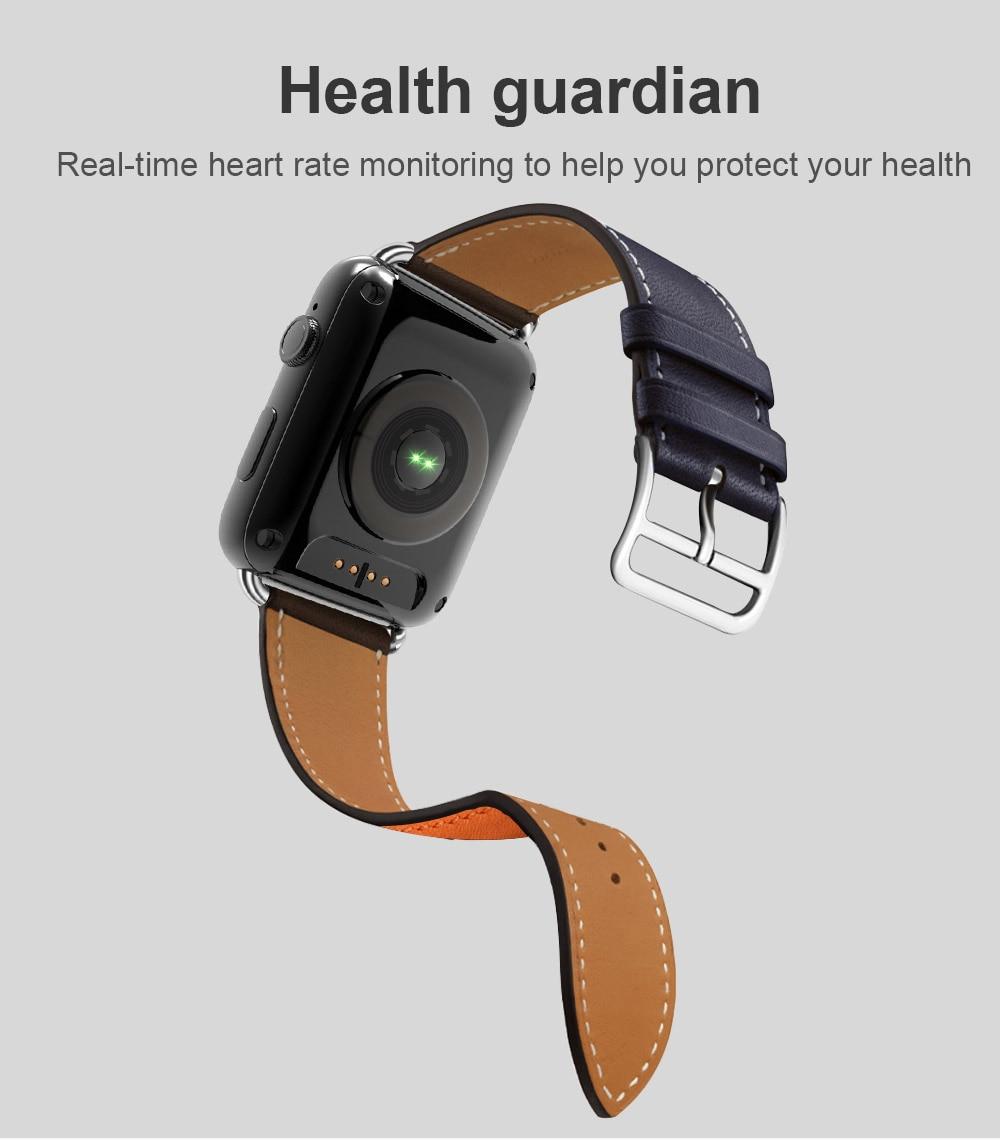 GPS Heart Rate Smart Wrist Watch - Novarian Creations
