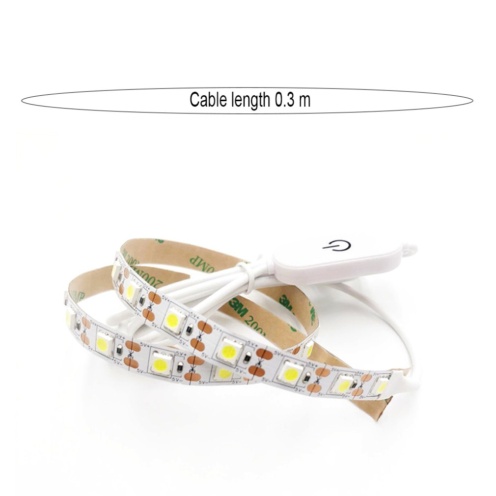 Push Sewing Machine LED Light Bar 5050 5V Waterproof 0.3M Sewing Machine Lighting Portable Paste Light Strip