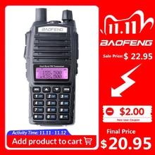 100% Baofeng UV 82 Walkie Talkie Dual Band Ham Radio Intercom UV82 Zwei Weg Radio VHF UHF Tragbare Jagd Hf Transceiver UV 82
