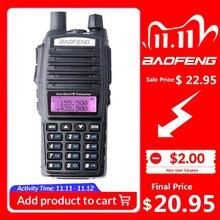 100% Baofeng UV 82 Walkie Talkie dwuzakresowy Ham Radio domofon UV82 dwukierunkowe Radio VHF UHF przenośne polowanie Hf Transceiver UV 82