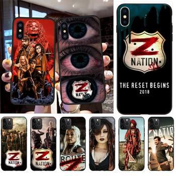 Перейти на Алиэкспресс и купить NBDRUICAI Sci-Fi Horror Z Nation чехол для телефона iPhone 11 pro XS MAX 8 7 6 6S Plus X 5S SE XR чехол