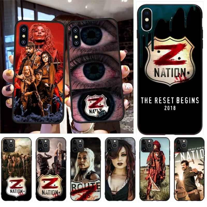 NBDRUICAI Sci-Fi Horror Z Nation Phone Case Cover for iPhone 11 pro XS MAX 8 7 6 6S Plus X 5S SE XR case
