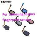 Оригинальный S8 Plus датчик отпечатков пальцев Главная кнопка гибкий кабель для Samsung Galaxy S8 S8 + Plus SM-G950 G955 датчик отпечатков пальцев
