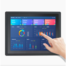 15.6 18.5 21.5 inch Embedded Industrial Touch All in One PC Computer with Capacitive Touch Widescreen IP65 built-in Wifi win10