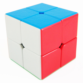 Shengshou Magic Cube 2x2x2 Puzzle Games Speed Cube for Competition Challenge Cubo Magico Educational Toys for Children tanie i dobre opinie Z tworzywa sztucznego Mini 6 lat Puzzle cube