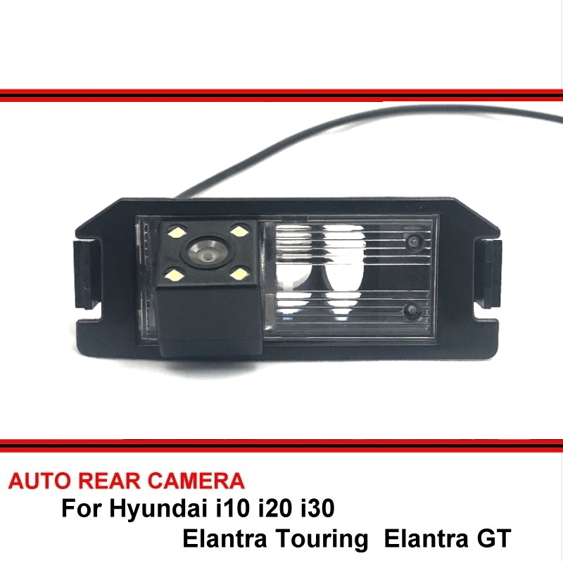 For Hyundai I10 I20 I30 Elantra GT Touring 07 - 17 Dodge I10 Reversing Camera Car Back Up Parking Camera Rear View Camera CCD