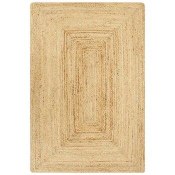 Handmade Carpet jute natural 80x160 cm For Home Hotel Floor Protection Living Room Decor Washable Carpet