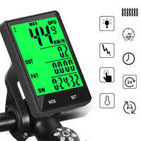 Waterproof Bicycle Computer Wireless And Wired MTB Bike Cycling Odometer Stopwatch Speedometer Watch 2.8 inch LED Digital Rate