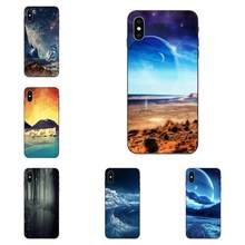 For Xiaomi Redmi Mi Note 2 3S 8 9 Lite SE Pro Soft TPU Hipster Case Scifi Landscape Abstract 3d(China)