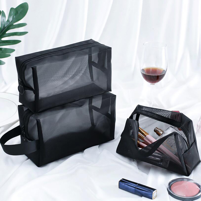 Newest Makeup Bag Cosmetic Toiletry Bathing Storage Bag Large Capacity Wash Make Up Hanging Storage Bag Travel Bags For Bathroom
