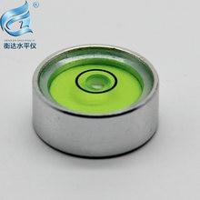 Металлический корпус из сплава круглый пузырьковый уровень металлический