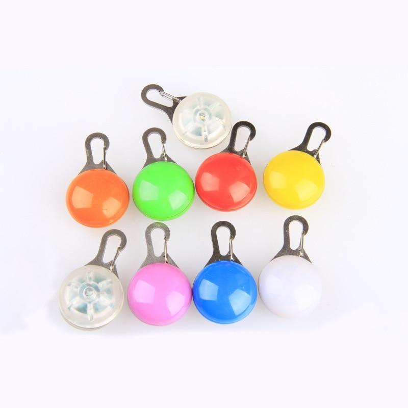 LED Pet Shining Pendant Dog Tag Dog Tag Pendant 8 Color
