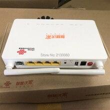 جديد 2019 جهاز توجيه الألياف الضوئية GPON ONU ZTE F677 3FE + 1GE + 1Tel + USB + Wifi 100% جديد نفس الوظيفة لـ ZTE F663N
