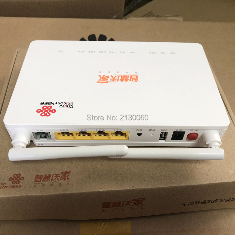 2019 New GPON ONU ZTE F677 Fiber Optic Router 3FE+1GE+1Tel+USB+Wifi 100% New Same Function As ZTE F663N