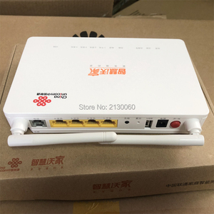 Image 1 - 2019 New GPON ONU ZTE F677 Fiber Optic Router 3FE+1GE+1Tel+USB+Wifi 100% New same function as ZTE F663N