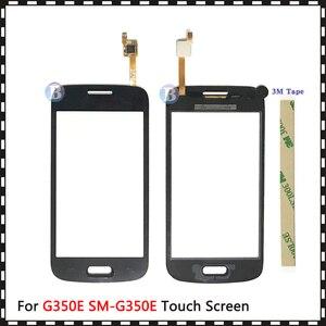 """Image 2 - 4.3 """"삼성 갤럭시 DUOS 스타 어드밴스 G350E SM G350E 터치 스크린 디지타이저 센서 외부 유리 렌즈 패널 블랙 화이트"""