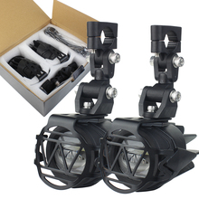 Motosiklet LED sis lambası güvenlik sürüş lambası motosiklet aksesuarları BMW için F800GS R1200 GS /ADV motosiklet Led ışıkları beyaz 6000k