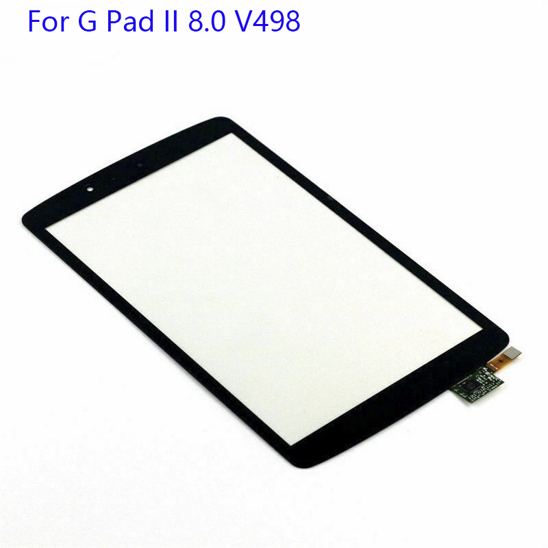 """NEW 8.0"""" For LG G Pad II 8.0 V498 Touch Digitizer Sensor Glass Replace G PAD V498 Touch Screen Digitizer Parts