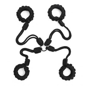 Ручные плетеные пеньковые веревки самобондаж кордаж БДСМ секс-инструменты порно собака косплей мордочки секс-игрушки для пар SM Slave