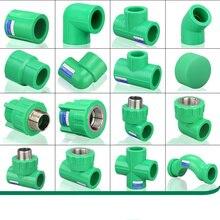 Высокое качество 4 точки 6 точек 20ppr водяная труба соединение с подогревом Fusion водонагреватель клапан воды клапаны бытовые фитинги