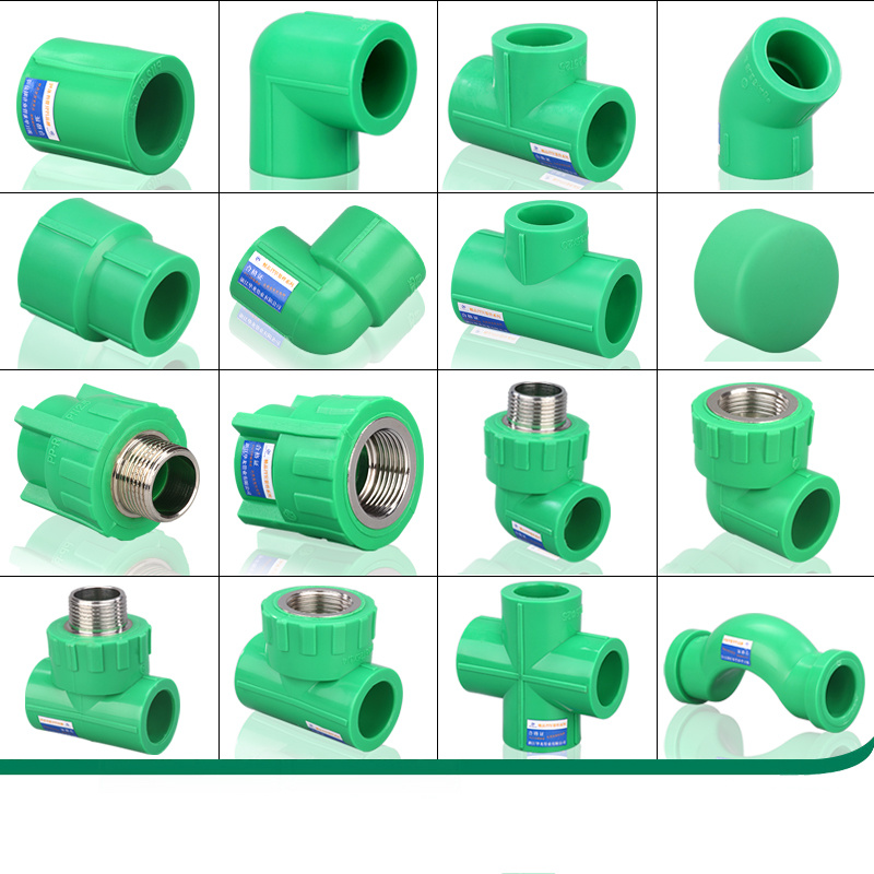 High Quality 4 Points 6 Points 20ppr Water Pipe Joint Heated Fusion Water Heater Water Valve Valves Household Fittings
