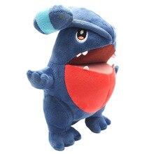 TAKARA TOMY PKM Plush Doll Pokemon Gible Horrible Shark Fish Children Toys PP Cotton Stuffed