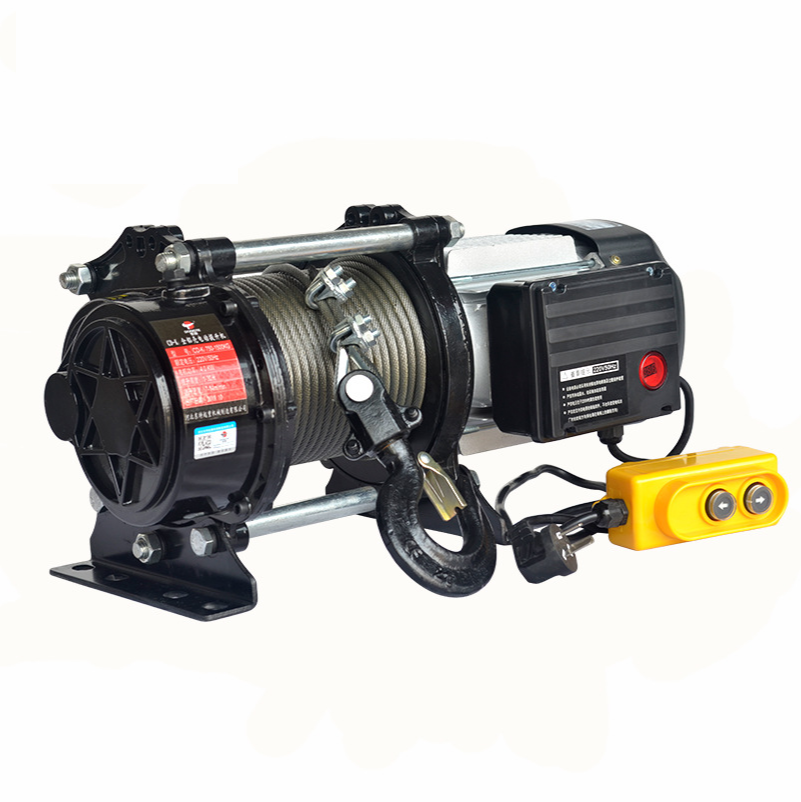 1 Tons Electric Hoist Small Household   MultiFunction Electric Hoist Hoist Winch