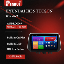 Car DVD For Hyundai IX 35 /Tucson ( 2019-2020) Car Radio Multimedia Video Player Navigation GPS Android 10.0 double din 5.0