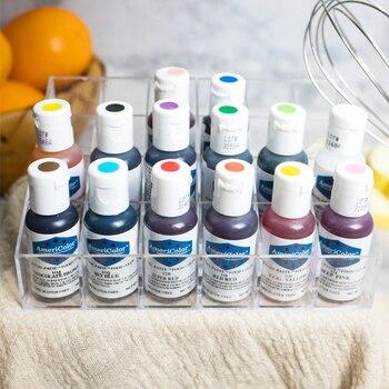 Envío Gratis América americano pigmento comestible Natural 41 colores crema Fondant pastel Macaroon crema pigmento 1 piezas 21g