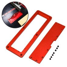 Electric Circular Saw Flip Cover Plate Adjustable Alumlip-Floor Table Special Cover Woodworking Tool