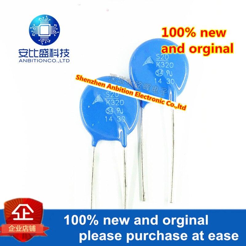 10pcs 100% New And Orginal B72220S2321K101 S20K320E2 S20K320 Varistor 320V Diameter 20MM In Stock
