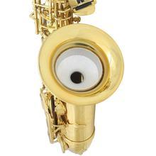 Saxophone Mute Silencer Mute Dampener Light-weight for Treble/Tenor/Alto Saxophone Sax Professional Saxophone Accessories