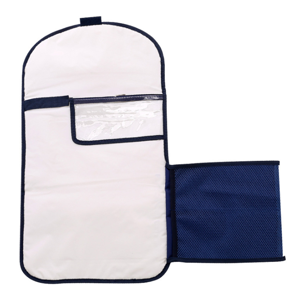 Waterproof Diaper Changing Mat Floor Travel Nappy Foldable Portable Zipper Closure Baby Use Wipeable Play Magic Sticker Washable