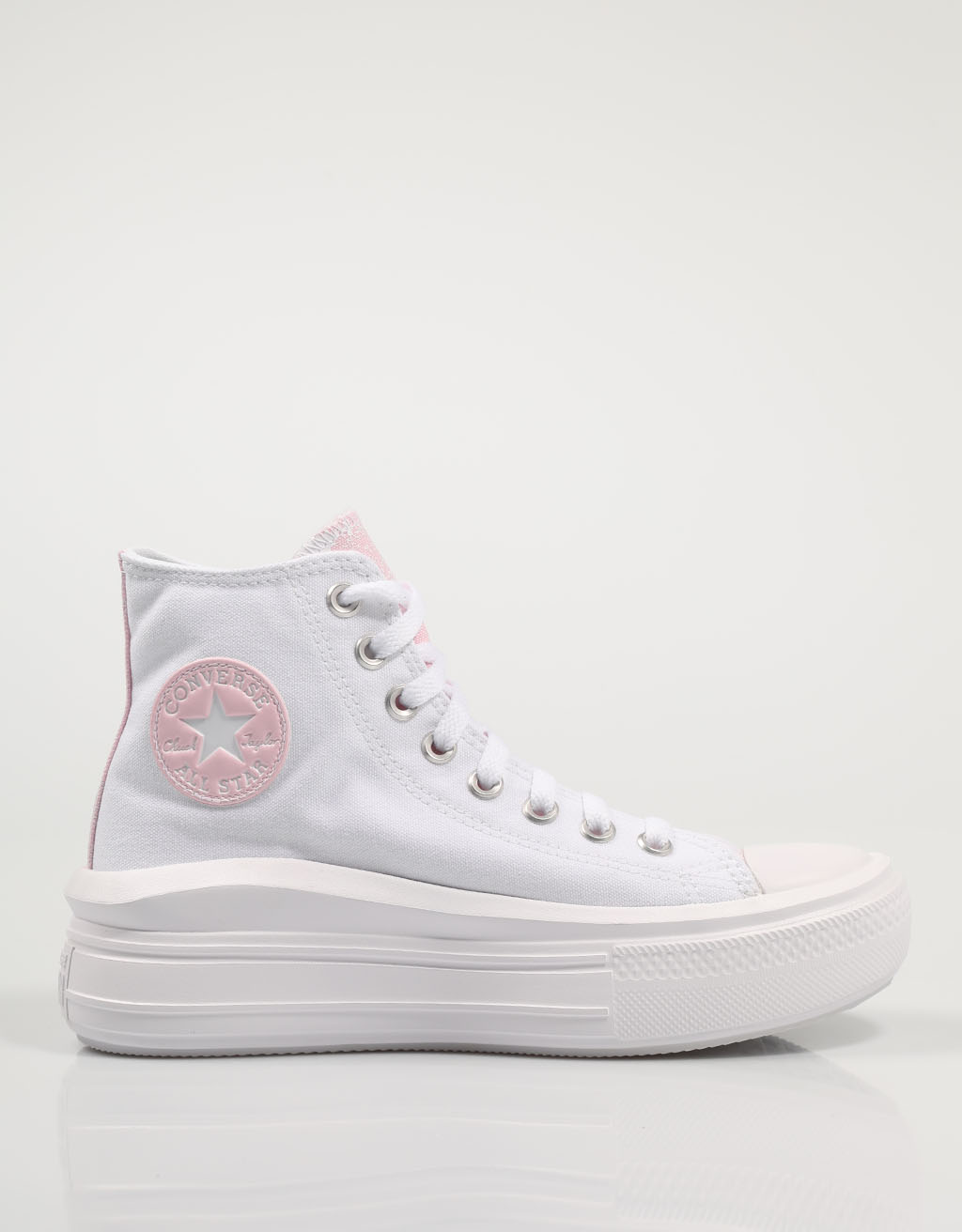 CONVERSE ZAPATILLAS CTAS MOVE WHITE 571577C Blanco Lona Mujer – White SNEAKERS Woman Shoes Casual Fashion 76501