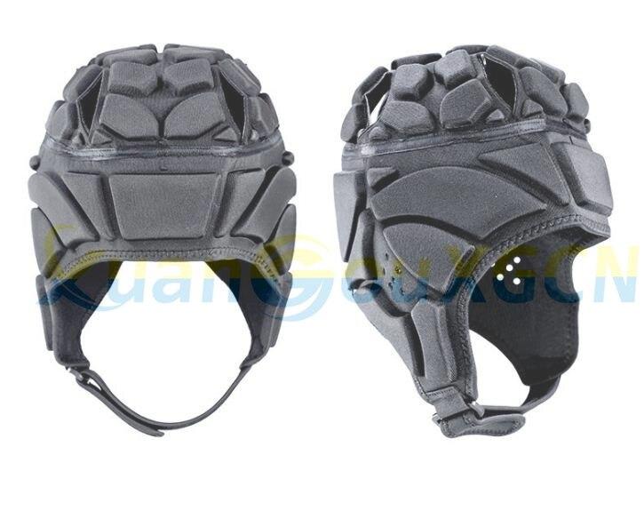 Chapéu anti-colisão capacete de futebol feminino chapéu