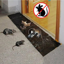 Placa Super Pegajosa Ratos Armadilha Catcher Armadilha da Colagem do rato Controle de Pragas Não-tóxico Do Produto Rato Assassino Ratoeira Ratoeira Guarda Jardim