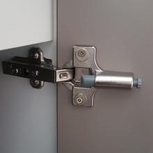 Top quality Adjustable Zinc alloy Buffer Soft Closer Damper Wooden Kitchen Cabinet Aluminum Doors Quiet Hinges buffer 10PCS