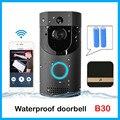 Anytek B30 wifi дверной звонок B30 IP65 Водонепроницаемый Смарт видео дверной звонок 720P беспроводной домофон FIR сигнализация ИК Ночное Видение IP каме...