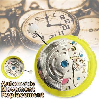 3 Point 8215 Metal Automatic Watch Mechanical Quartz Movement Big Calendar Luxury Brand Women Men High Quality Watch Accessories