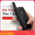 KSUN KSX10 walkie-talkie открытый небольшой ручной метр мини 50 км мощный мобильный телефон домофон