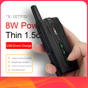 Image 1 - KSUN KSX10 walkie talkie outdoor small handheld meter mini 50 civilian kilometers high power mobile phone intercom