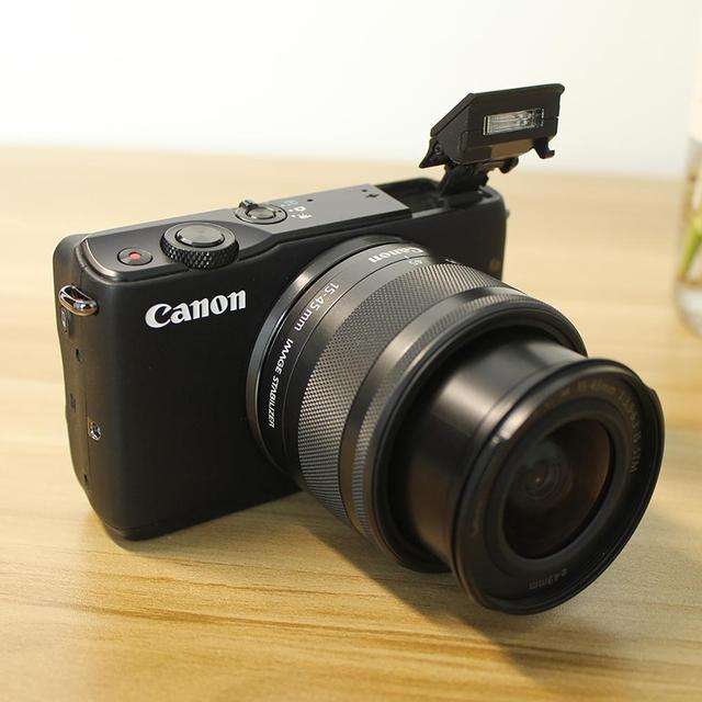 Used,Canon EOS M10 Mirrorless Camera Kit with EF-M 15-45mm Image Stabilization STM Lens Kit(NOT FULL NEW) 1