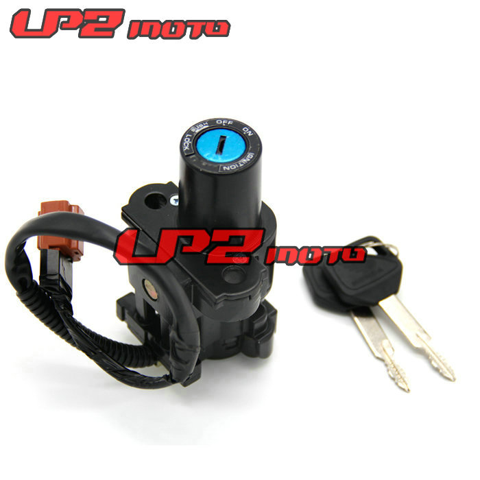 Motorcycle Motorbike Ignition Switch Key with Wire Electric Door Lock For Honda CBR1000RR 2004 2007 CB650F 2015 2018