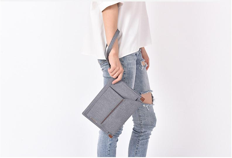 Bag Business Storage-Bag Organizer Document-Card Multi-Pocket Casual New Solid Loop Large-Capacity