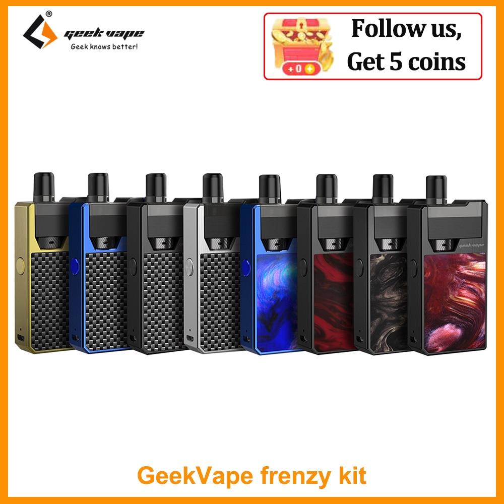 Распродажа оригинальная система Geekvape Frenzy Pod Комплект аккумулятор 950 мАч SS316 катушка aegis solo VS Cuboid Mini электронная сигарета Системы нагревания табака и электронные сигареты      АлиЭкспресс