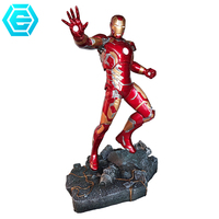 Famous American Movie Iron Action Man MK43 Action Figure Decoration